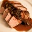 Thumbnail image for Fall Supper:  Pork Tenderloin with Autumn Sauce, Butternut Squash & Buttercream Potato Gratin, and Dark Magic Gingerbread with Butterscotch Sauce