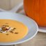 Thumbnail image for Pumpkin Soup with Pancetta, Crème Fraiche, and Toasted Pumpkin Seeds