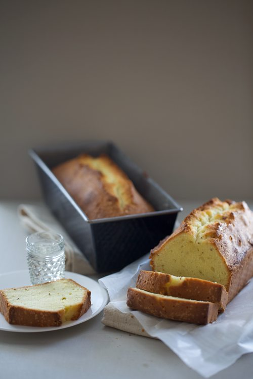 Post image for Fennel & Almond Pound Cake with Sambuca Syrup