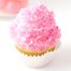 Thumbnail image for Bubble Gum Ball Surprise Cupcakes with Strawberry Swiss Meringue Buttercream & Pink Rock Candy Crystals