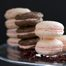 Thumbnail image for Rose Water, Hibiscus, & Dark Cocoa Macarons with Rose Water and Hibiscus White Chocolate Ganaches