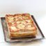 Thumbnail image for Spinach Lasagne with Wild Boar Sausage, Olivada, Fresh Ricotta & Mozzarella, and Simple Tomato Sauce