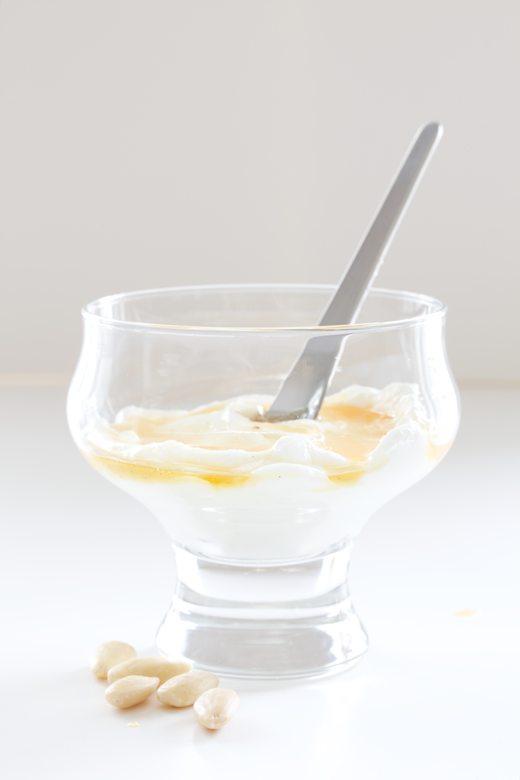 homemade yogurt with winter citrus syrup - A Little Zaftig