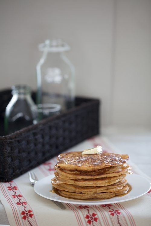 Post image for Whole Wheat Gingerbread Pancakes