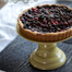 Thumbnail image for Cranberry Tart with Cognac-soaked Raisins, Tangerine Zest, and Dark Chocolate